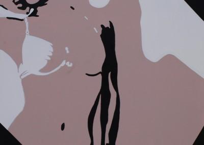 «Attente mélancolique» 116X81 cm