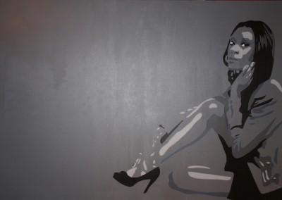 «Andréa» 116X81 cm