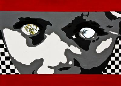«Curiosité dérangeante» 80X60 cm