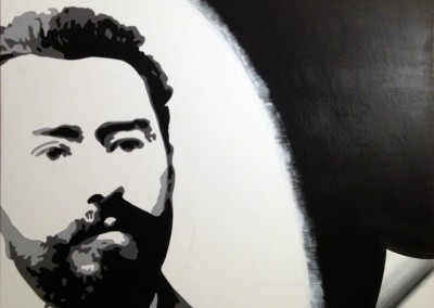 «Francis Jammes» 116X81 cm