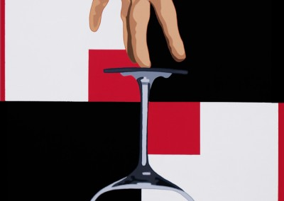 «Main-mise» 116X81 cm